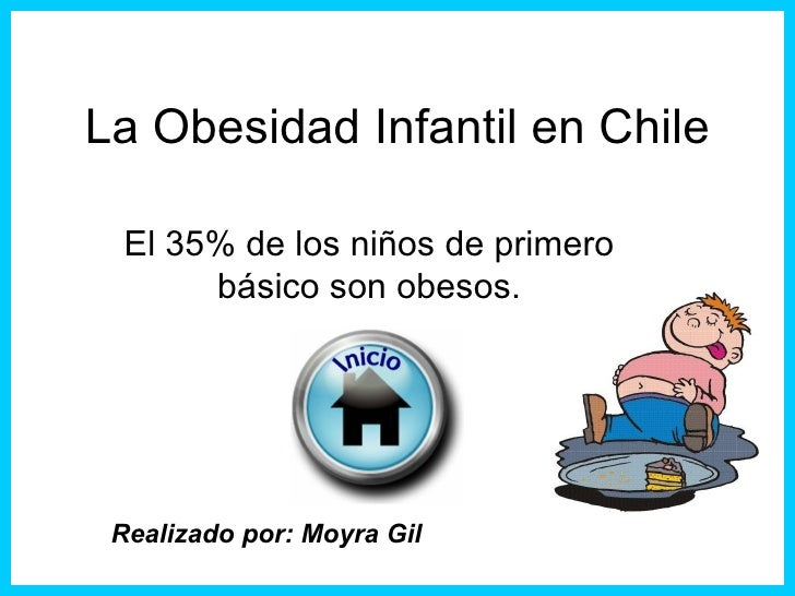 La obesidad infantil en chile
