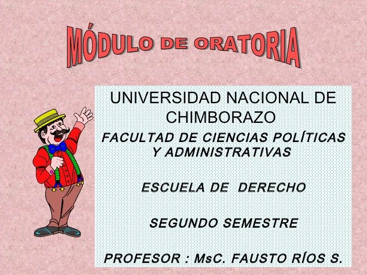UNIVERSIDAD NACIONAL DE CHIMBORAZO  FACULTAD DE CIENCIAS POLÍTICAS Y ADMINISTRATIVAS  ESCUELA DE  DERECHO SEGUNDO SEMESTRE...