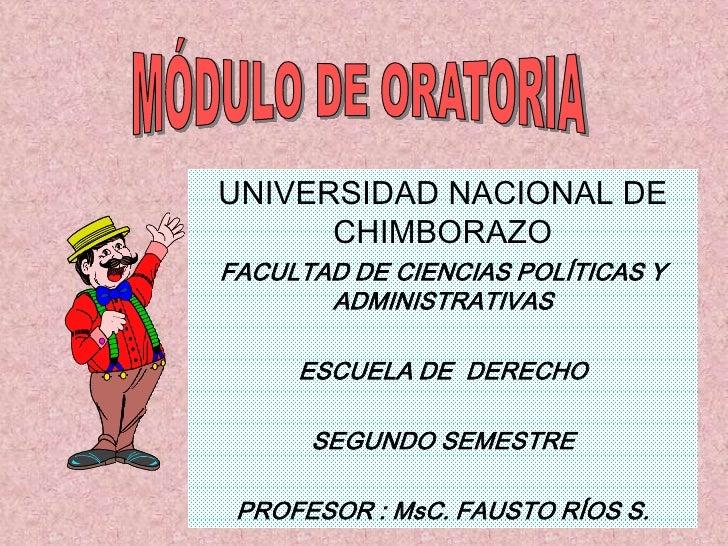 UNIVERSIDAD NACIONAL DE       CHIMBORAZO FACULTAD DE CIENCIAS POLÍTICAS Y        ADMINISTRATIVAS       ESCUELA DE DERECHO ...