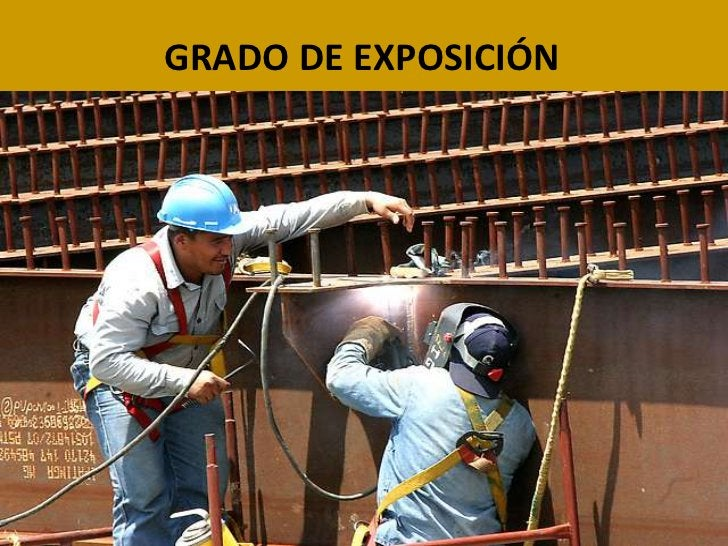 GRADO DE EXPOSICIÓN<br />