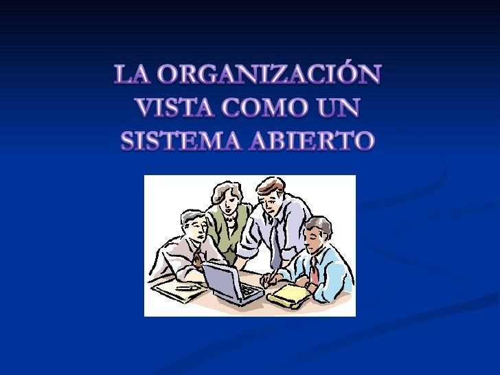 La organización Slide 1