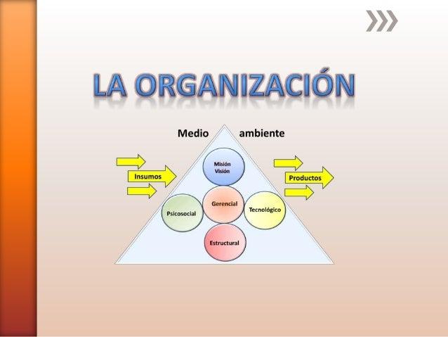 Las organizaciones son sistemas sociales diseñados para lograr metas y objetivos por medio de los recursos humanos o de la...