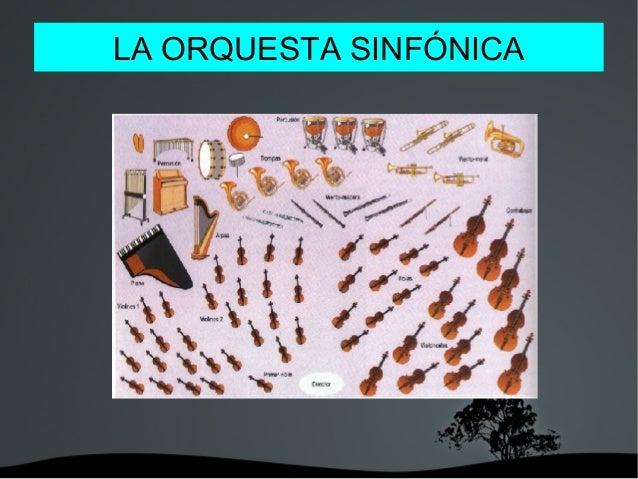 LA ORQUESTA SINFÓNICA