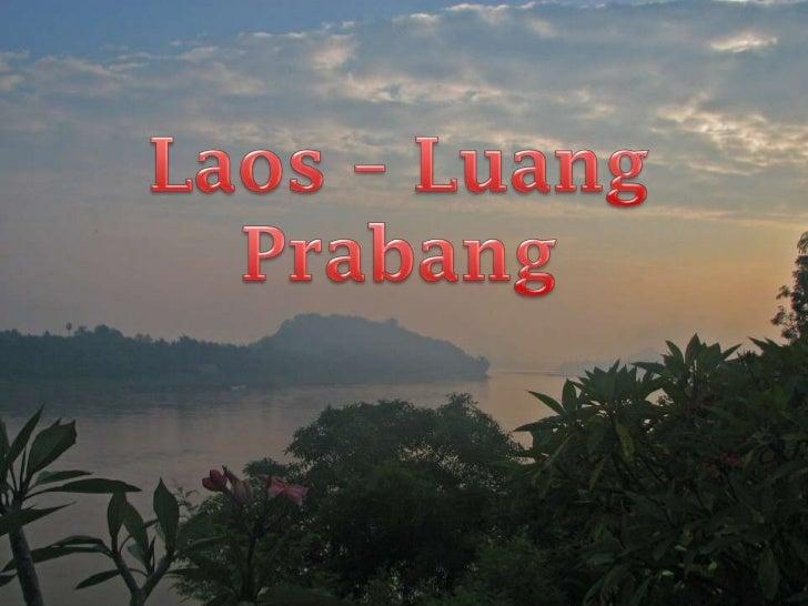Laos – LuangPrabang<br />