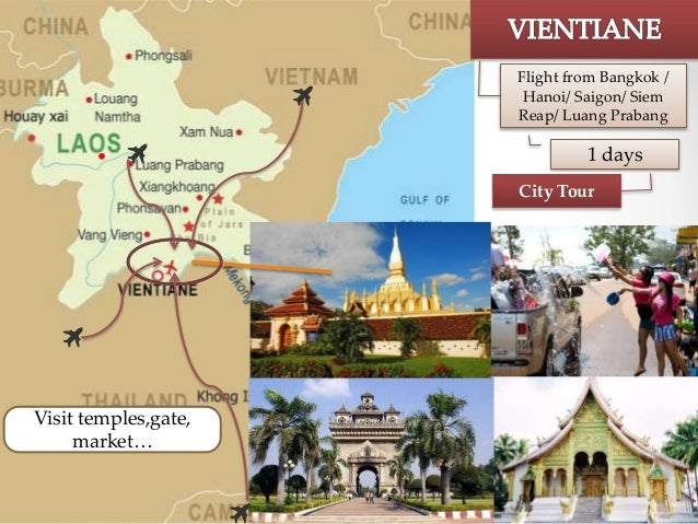 Laos major attractions