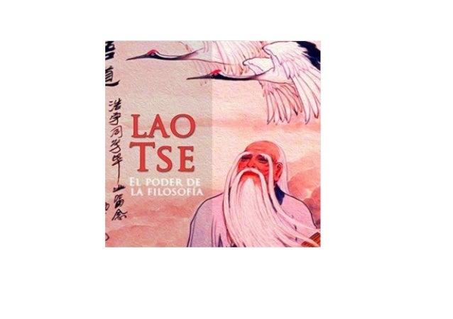 Lao Tsé [Laozi]: El Poder de La Filosofía [The Power of Philosophy]