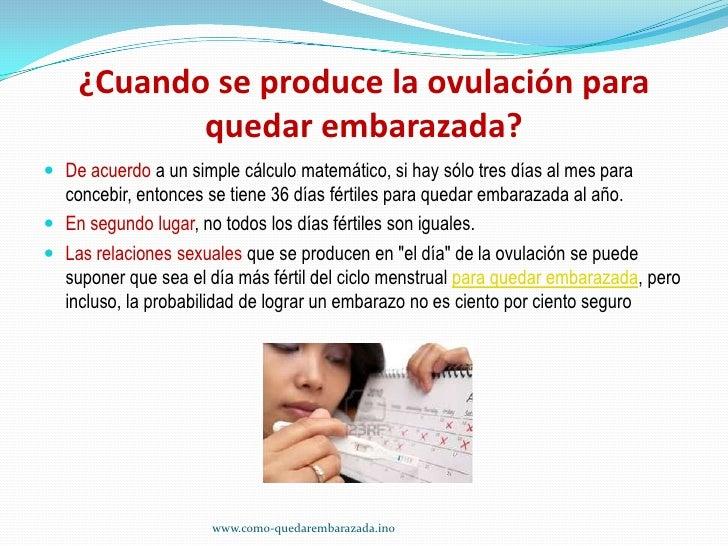 la ovulacion y la fertilidad de la mujer