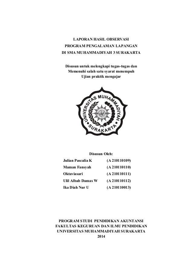 Laporan Hasil Observasi Tentang Qurban Seputar Laporan