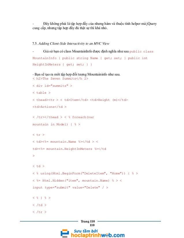 Đây không phải là tập hợp đầy của nhưng hàm và thuộc tính helper mà jQuery cung cấp, nhưng tập hợp đầy đủ thật sự thì khá ...