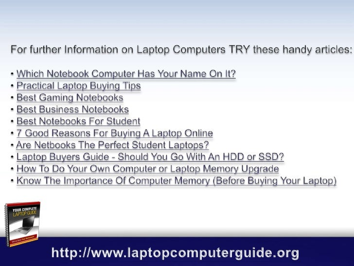 Handy Checklist For Buying Any New Computer or Laptop