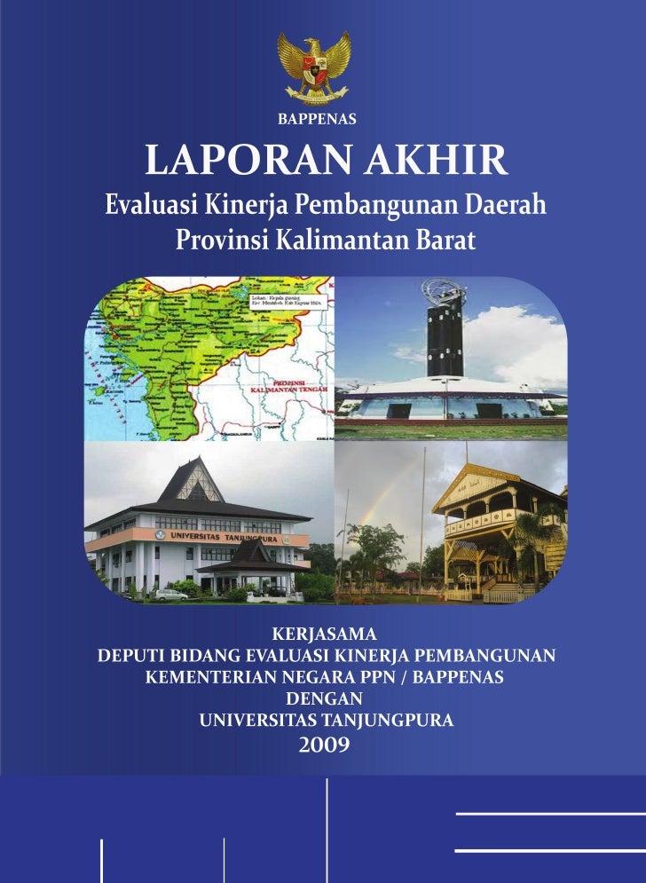 KATA PENGANTAR     Rencana Pembangunan Jangka Menengah Nasional (RPJMN) 2004 – 2009 telah berlangsung empat tahun, dan saa...