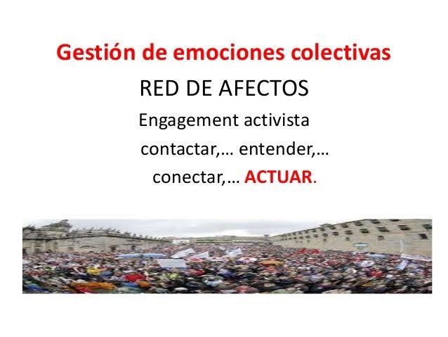 (la eficacia de las) microCAUSAS 50 comprometidos vs 50.000 movilizados Stop desahucio vs Manifestación vs