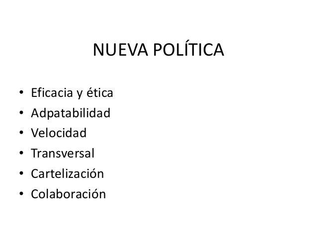 NUEVA POLÍTICA/COMUNICACIÓN acción pública
