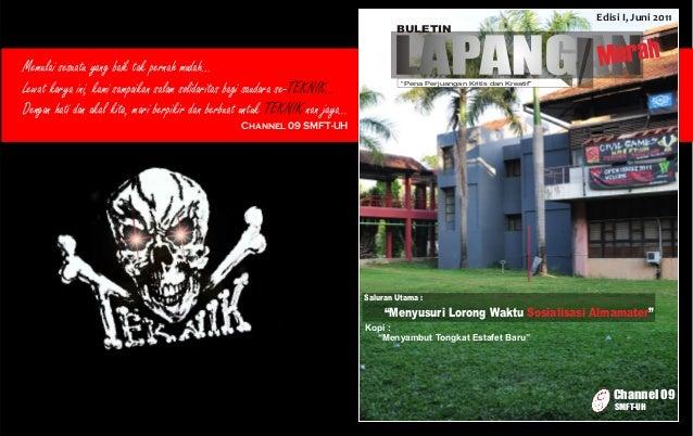 Edisi I, Juni 2011                                                                                     Buletin            ...