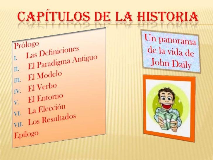 CAPÍTULOS DE LA HISTORIA