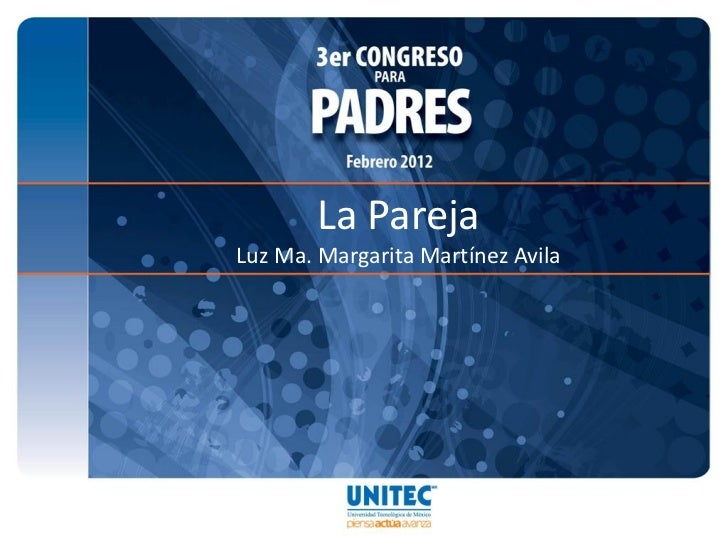 La ParejaLuz Ma. Margarita Martínez Avila