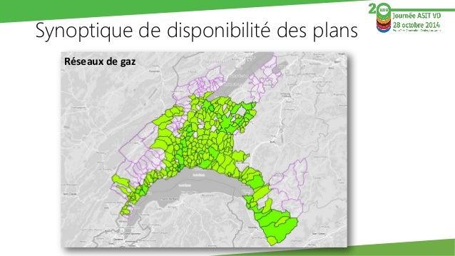 Synoptique de disponibilité des plans  Réseaux d'eau