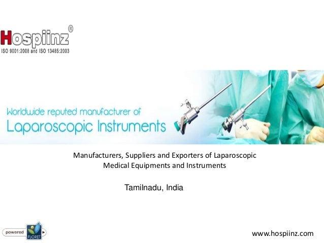 Laparoscopic equipment manufacturers in india