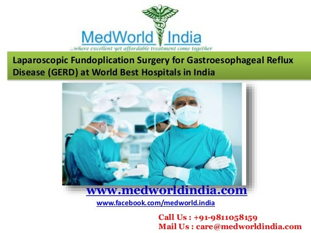 Fundoplication surgery cost in india