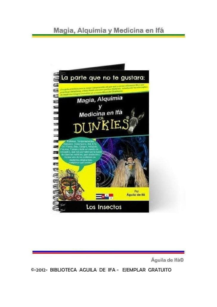 ©-2012- BIBLIOTECA AGUILA DE IFA - EJEMPLAR GRATUITO