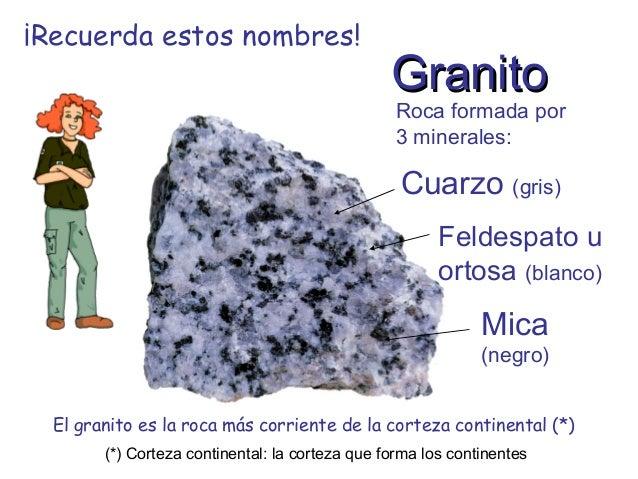Los materiales de la corteza terrestre for Que tipo de roca es el marmol