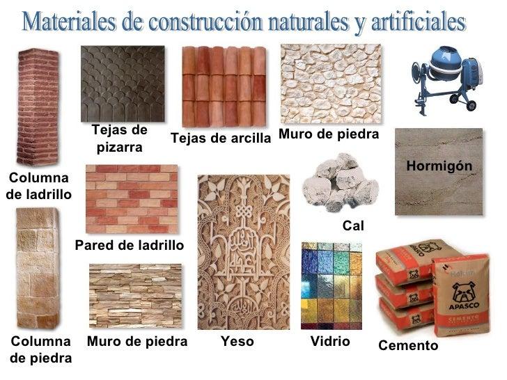 La parte s lida de la tierra 12 rocas y construcci n - Materiales de construcion ...
