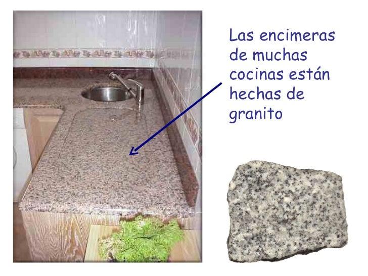 La parte s lida de la tierra 2 minerales y rocas for Que es el granito