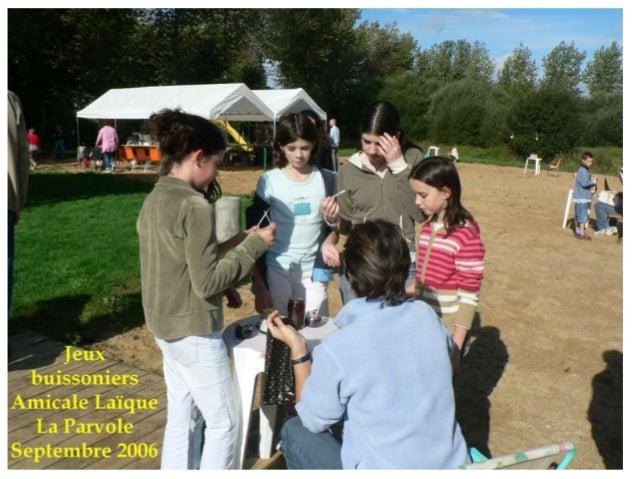 Repérage d'une demi journée, prolongé d'une enquête auprès de nos visiteurs au stand La Parvole au Forum des Des associati...