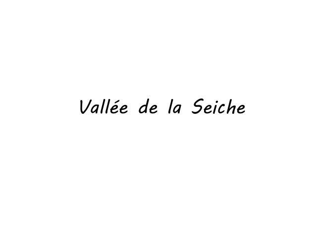 Vallée de la Seiche