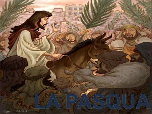    Aquí podem    observar com    Jesús entra    triomfalment a    Jerusalem montat    d'un pollí i els seus    seguidors ...