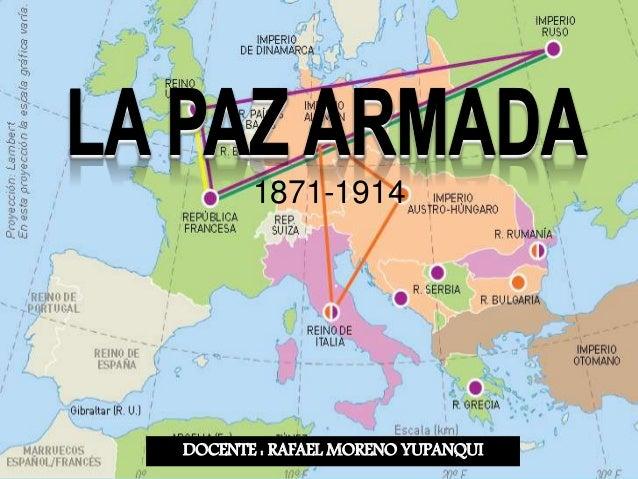DOCENTE : RAFAEL MORENO YUPANQUI 1871-1914
