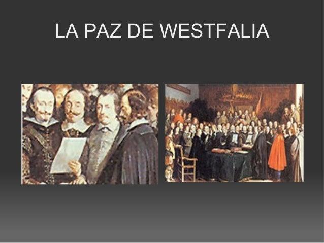LA PAZ DE WESTFALIA