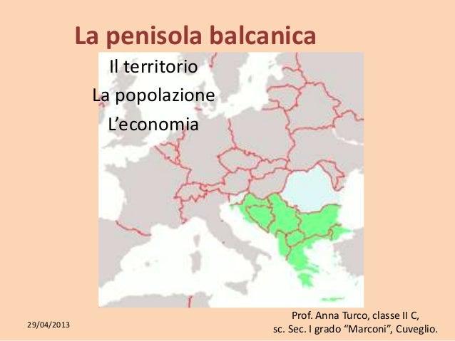 Cartina Fisica Europa Balcanica.La Penisola Balcanica