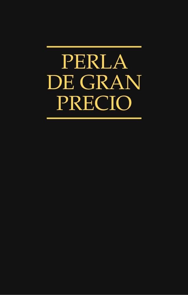 PERLA DE GRAN PRECIO
