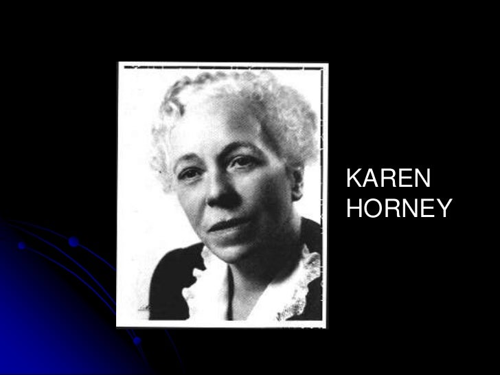 karen horney Karen horney was born karen danielsen on september 16, 1885 in the german city of hamburg her father, berndt wackels danielson, was a ship's captain, an.