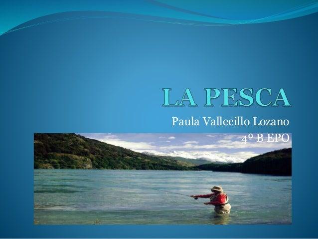 Paula Vallecillo Lozano 4º B EPO