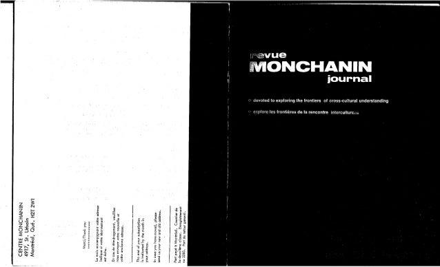 123-L'Interculturel au Québec : Philosophie et pratiques des ONG. K. Das et al. (document à télécharger en format PDF, 2,3...