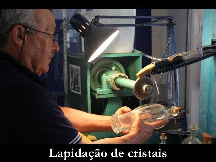 Lapidação de cristais