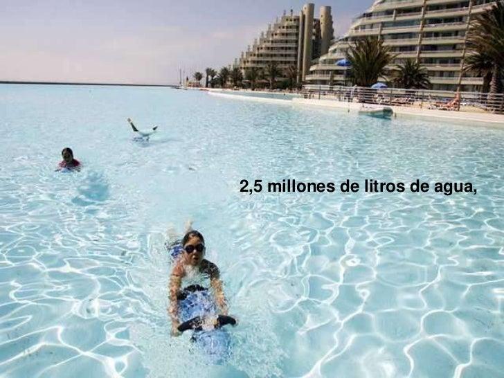 La piscina mas grande del mundo for Cuantos litros de agua caben en una piscina