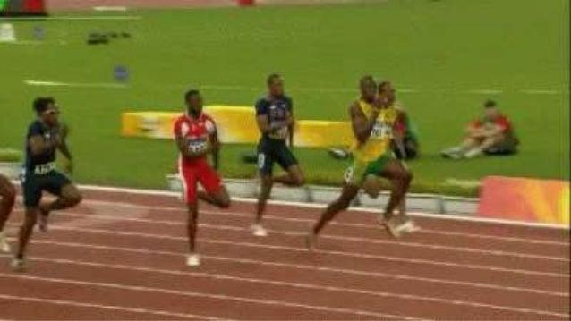 La pista de atletismo