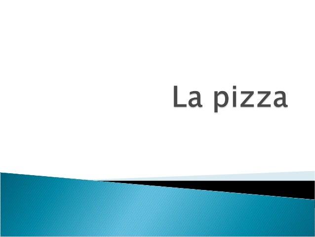    La pizza est un plat    italien mondialement    connu, fait d'une pâte    à pain étalée en rond    recouverte de diver...