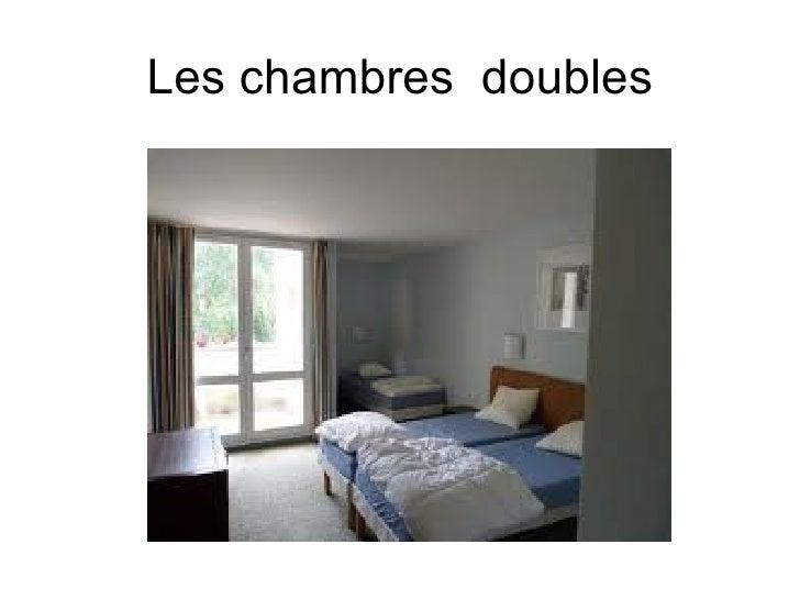 Les chambres doubles