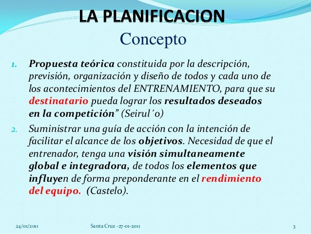 La planificacion en_futbol_francisco_ayestaran Slide 3