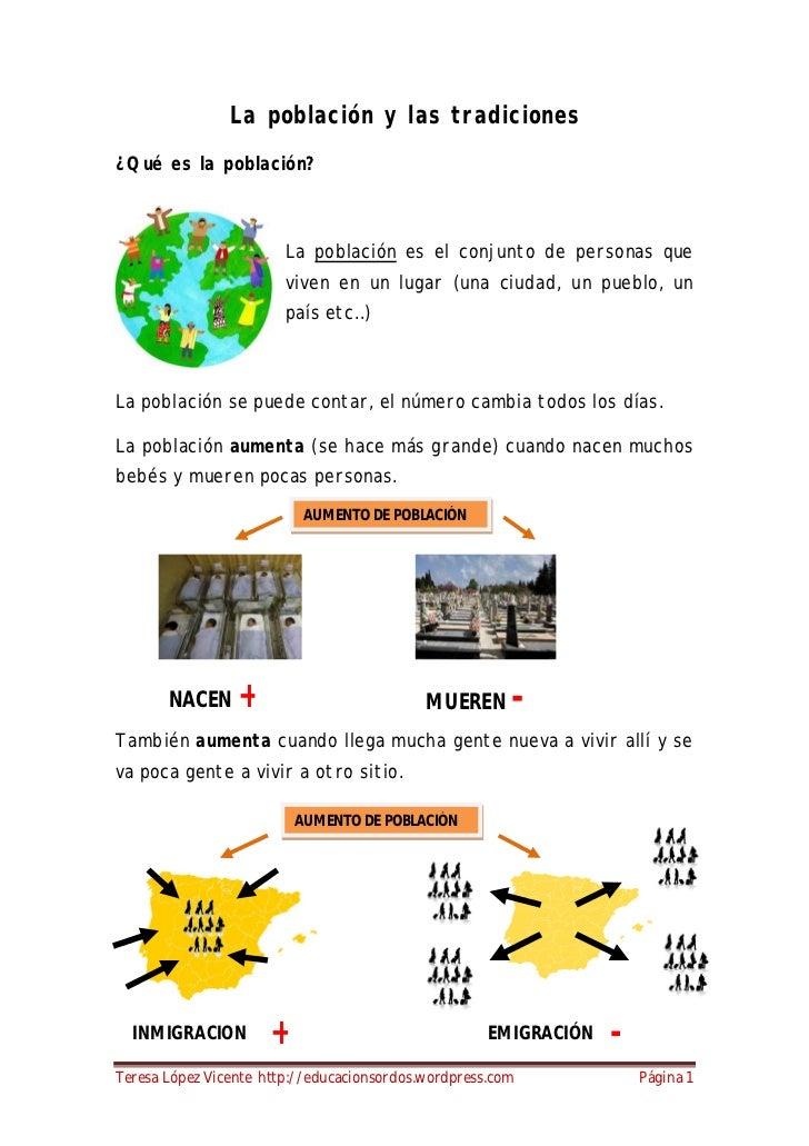 La poblaci n y las tradiciones 4 primaria for Definicion de cuarto