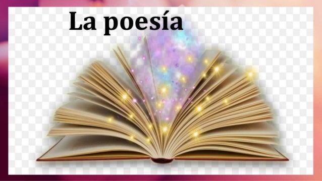 La poesía