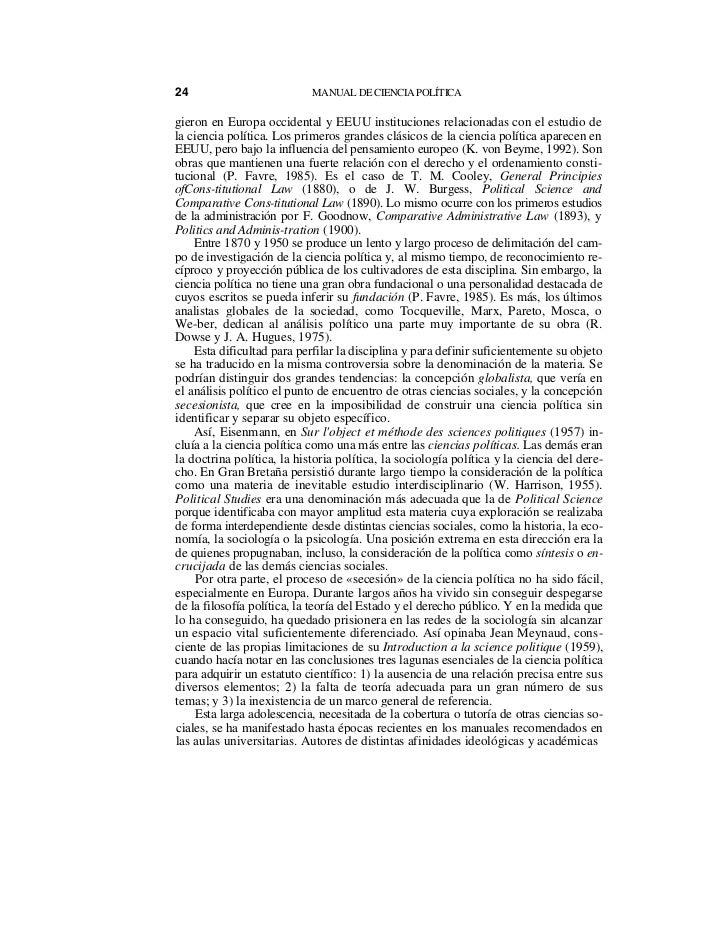 Manual de ciencias politicas caminal badian