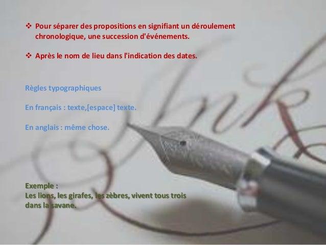La ponctuation francaise Slide 3