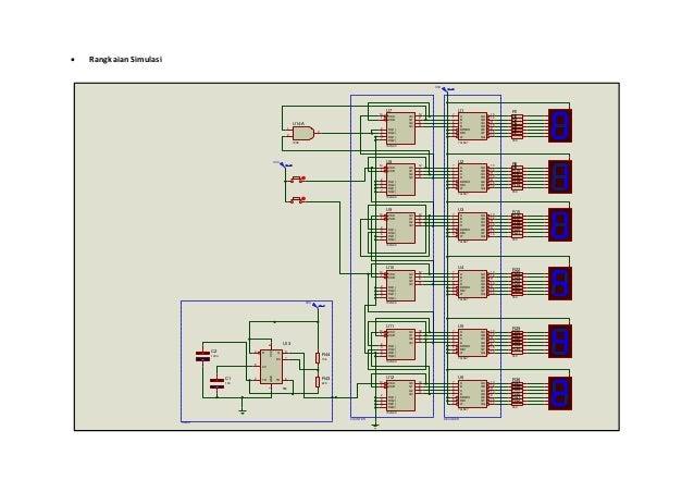 Implementasi rangkaian counter pada digital clock 8 ccuart Image collections