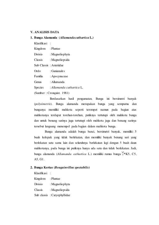 Laporan praktikum 7 rumus bunga dan diagram bunga morfologi tumbuhan putik gynaecium 1 10 ccuart Image collections