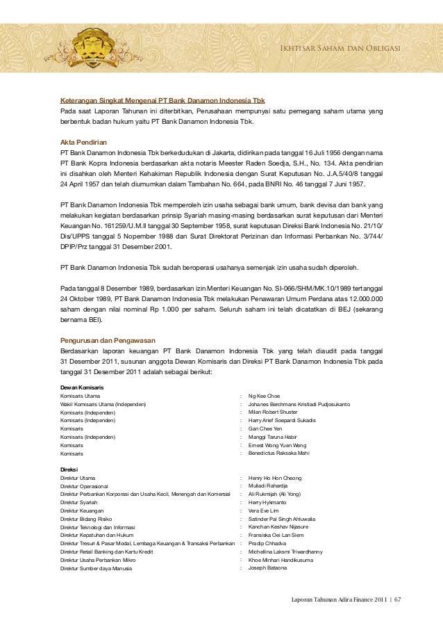 Adira Finance Contoh Surat Kuasa Pengambilan Bpkb Mobil ...